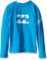 Billabong Big Boys' Team Wave Long Sleeve Regular Fit Rashguard