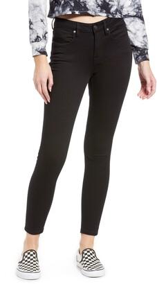 Vigoss Marley Mid Rise Crop Skinny Jeans