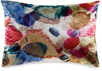 Callisto Home Modern Multicolor Velvet Pillow