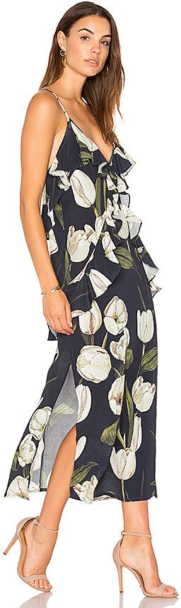 MLM Label Ruffle Slip Dress