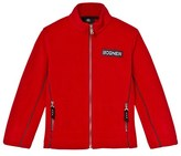 Bogner Red Alteo Polar Fleece Jacket
