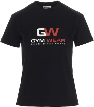 Balenciaga gym Wear T-shirt