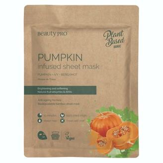 BeautyPRO Pumpkin Infused Sheet Face Mask