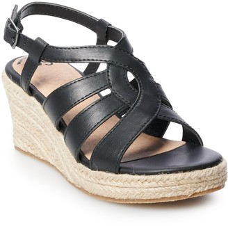 So Sandstorm Girls' Wedge Sandals