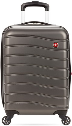 """Swiss Gear 7790 18"""" Expandable Hardside Spinner Carry-On Luggage"""