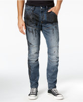 G Star Men's 5620 Tapered Splatter Jeans