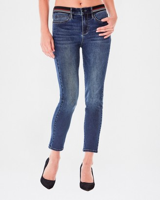 Nicole Miller Soho High Rise Ankle Skinny Jean