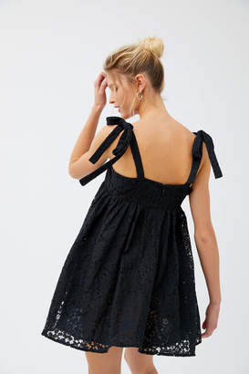Urban Outfitters Always Dreaming Lace Babydoll Dress