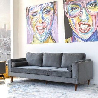 Everly Lindel Sofa Quinn Upholstery Color: Gray