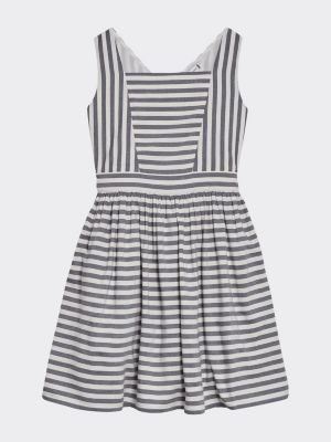 Tommy Hilfiger All-Over Stripe Pure Cotton Dress