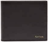 Paul Smith Car-print bi-fold leather wallet