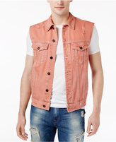 GUESS Men's Dillon Denim Vest