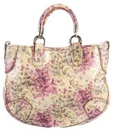 Bally Floral Patent Tote