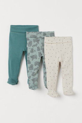 H&M 3-pack Pants - Green