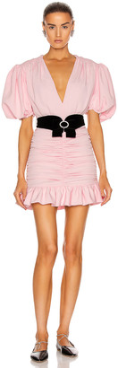 MARIANNA SENCHINA Eye Candy Mini Dress in Baby Pink | FWRD