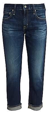 AG Jeans Women's Ex-Boyfriend Slim-Fit Crop Cuff Jeans