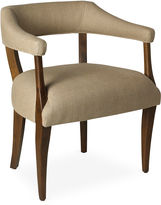 One Kings Lane Molly Linen Chair, Sepia