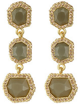 Vince Camuto 3 Part Stone Earrings