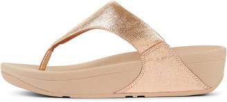 FitFlop Lulu Glitzy Toe-Post Sandals