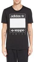 adidas Men's Mesh Box Graphic T-Shirt