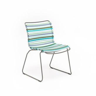 Ecc Lighting & Furniture Click Outdoor Dining Chair Multi Green & Blue Palette
