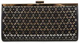 Jessica McClintock Laura Perforated Frame Convertible Clutch