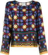 Forte Forte floral print tunic - women - Silk/Cupro - I