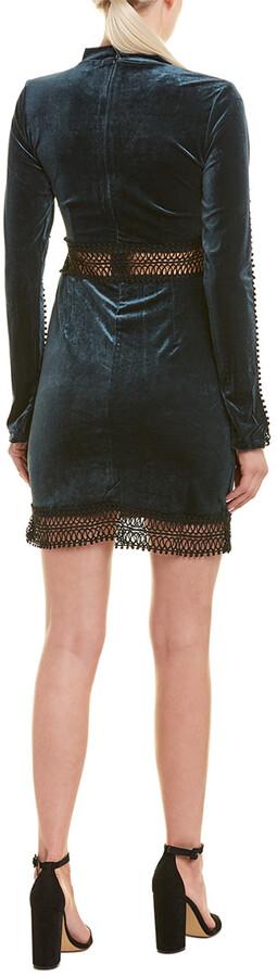 Thumbnail for your product : Romeo & Juliet Couture Velvet Shift Dress