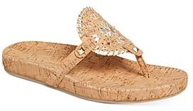 Jack Rogers Women's Georgica Thong Sandals