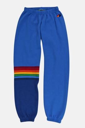 Aviator Nation Cobalt 5 Stripe Sweatpants