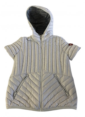 Colmar White Polyester Leather jackets