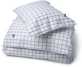 Lexington Icons American Country Pinpoint Check Duvet Cover - Navy - Super King