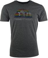 adidas Men's Short-Sleeve Denver Nuggets Retro Logo Tri-Blend T-Shirt