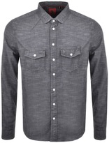 Luke 1977 Bardon Shirt Grey