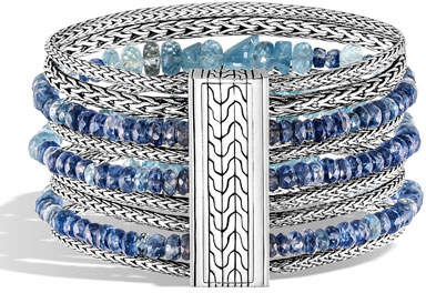 John Hardy Classic Chain Multi-Row Bead Bracelet