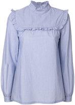 A.P.C. ruffle trim shirt
