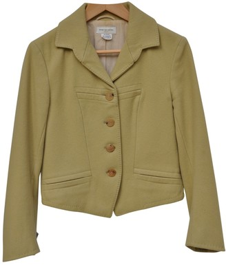 Dries Van Noten Green Wool Jackets