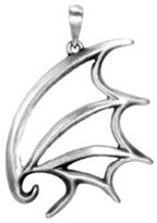 Summit Dragon Wing Pendant - Collectible Medallion Necklace Accessory Jewelry