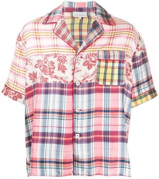 Pierre Louis Mascia Multi-Print Shortsleeved Shirt