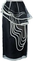 Antonio Marras swirl pattern skirt