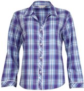 Cyberjammies Dandelion Shower Cotton Modal Check Top 3084