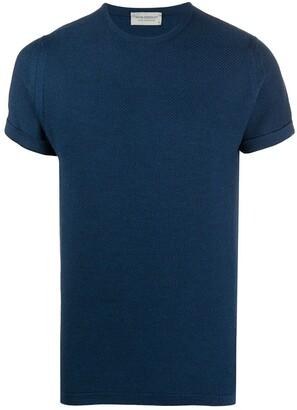 John Smedley Short-Sleeved Knitted Top