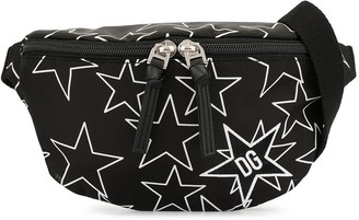 Dolce & Gabbana Kids Millennials Star print belt bag
