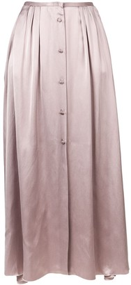 Forte Forte front button maxi skirt