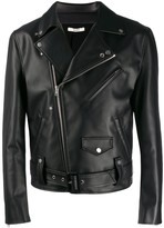 Apple Leather Biker Jacket