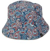 Pretty Green Camley Paisley Reversible Bucket Hat