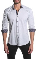 Jared Lang Men's Trim Fit Long Sleeve Sport Shirt