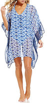 MICHAEL Michael Kors Summer Breeze Tunic Cover-Up