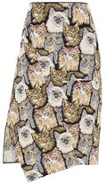 Stella McCartney cat jacquard anna skirt