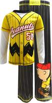"Peanuts Little Boys' Toddler ""Player 50"" 2-Piece Pajamas"
